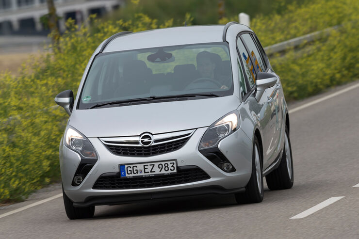 Opel Zafira 16 Cng Turbo Im Test Auto Motor Und Sport