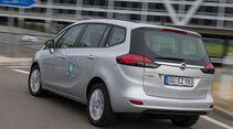 Opel Zafira 1.6 CNG Turbo, Heckansicht