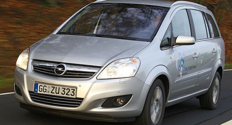 Opel Zafira 1.6 CNG