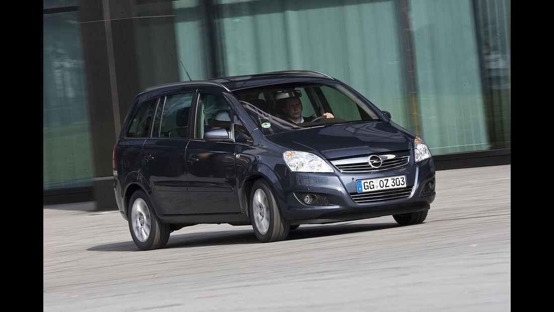 Opel, Zafira, 1.7 CDTi, dynamisch, vtest, aumospo0709