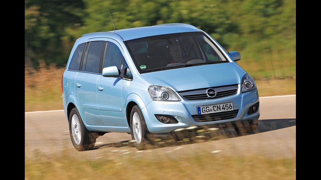 Opel Zafira 1.9 CDTi, Frontansicht