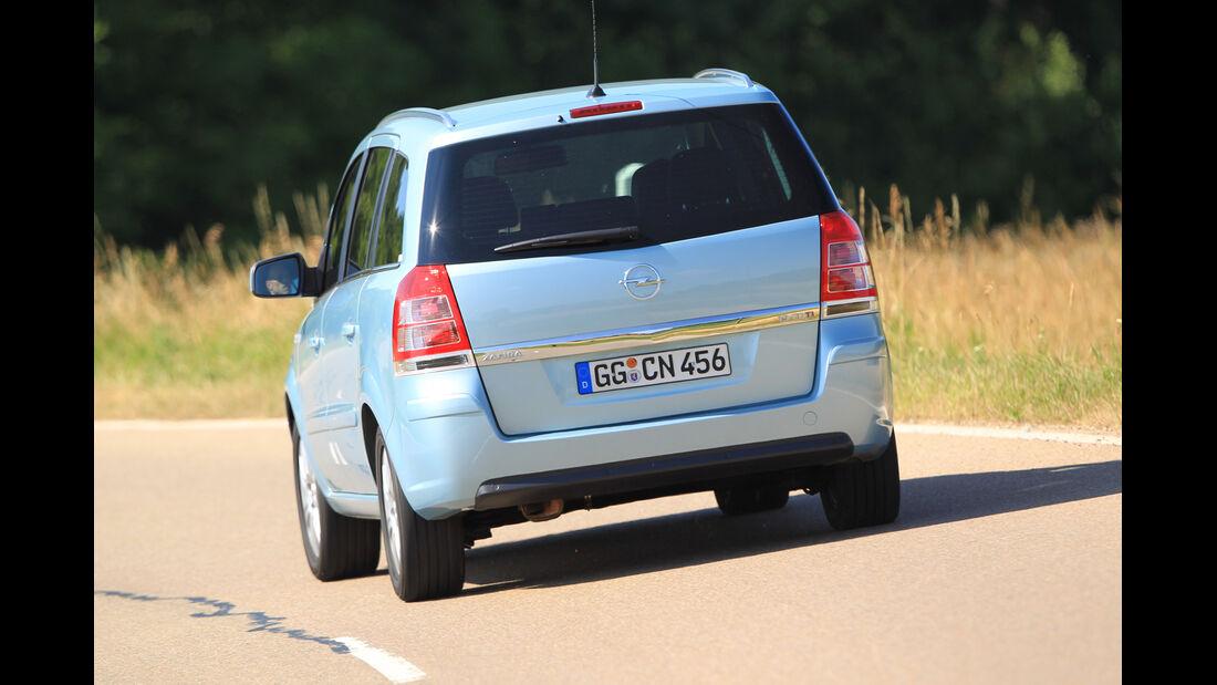 Opel Zafira 1.9 CDTi, Heckansicht