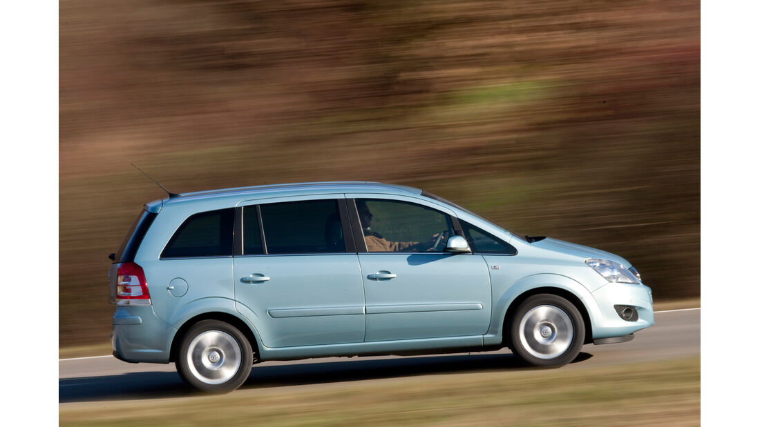 Opel Zafira 1.9 CDTi, Seitenansicht