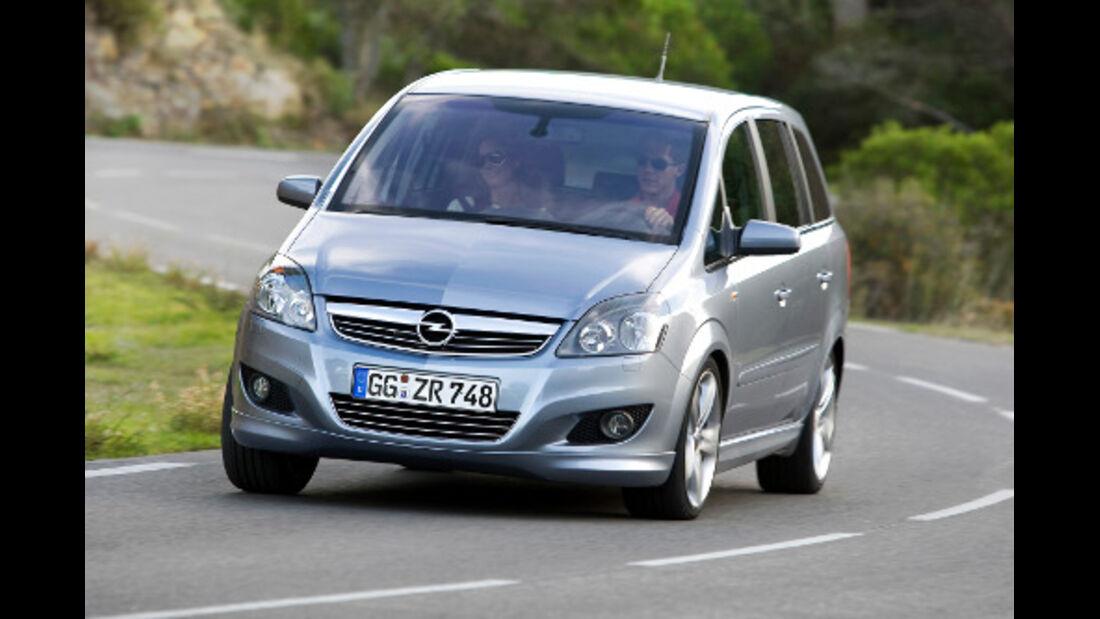 Opel Zafira: Ausgabe des Jahres 2008