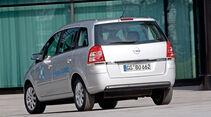 Opel Zafira CNG, Heck