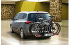 Opel Zafira, Fahrradträger