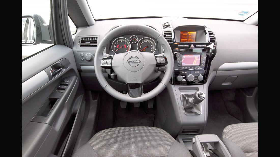 Opel Zafira Family, Cockpit