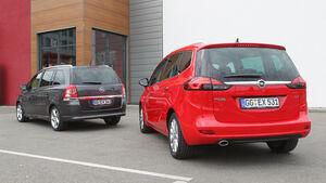 Opel Zafira Family, Opel Zafira Tourer, Heckansicht