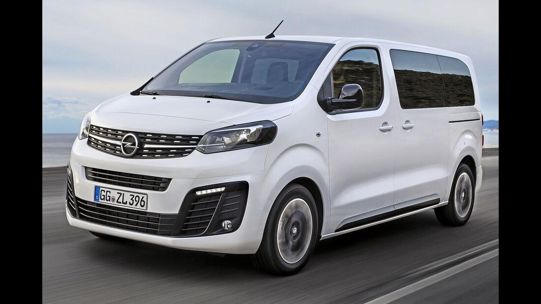 Opel Zafira Life, Best Cars 2020, Kategorie L Vans