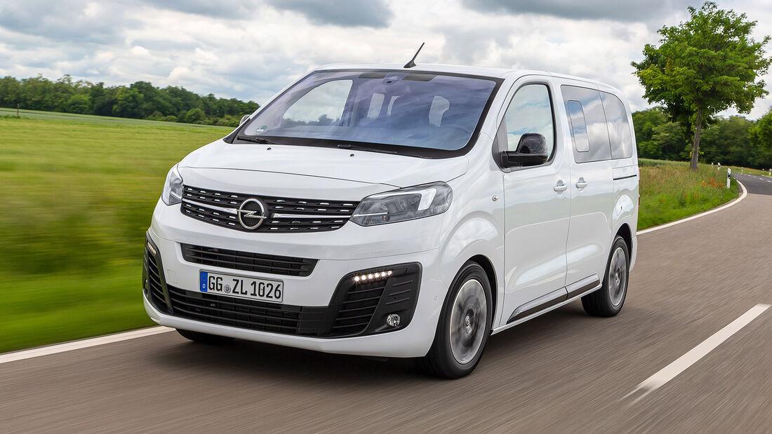 Opel Zafira Life, Exterieur