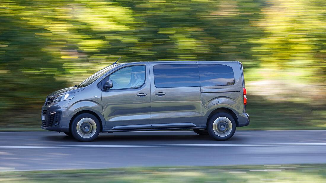 Opel Zafira Life M 2.0 D,  Exterieur