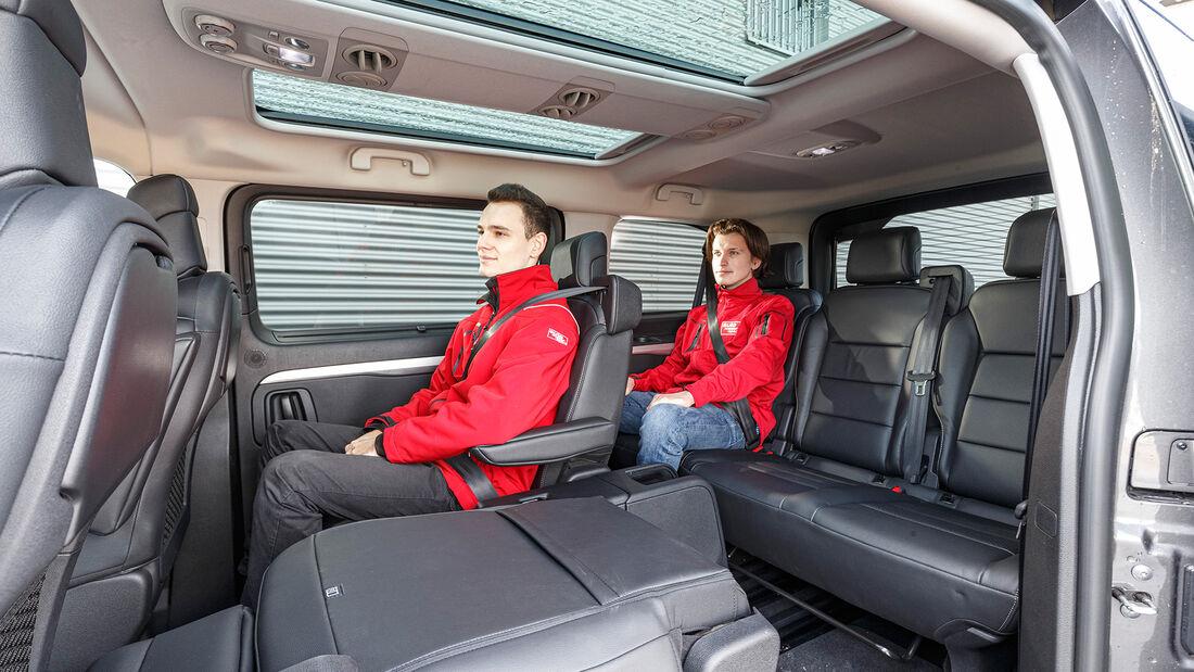 Opel Zafira Life M 2.0 D,  Interieur