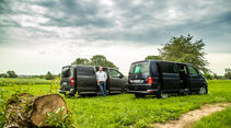 Opel Zafira Life, VW Caravelle, Exterieur