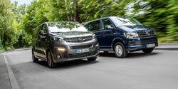 Opel Zafira Life VW Caravelle Vergleich Aufmacher