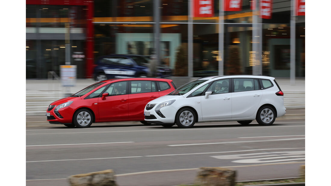 Opel Zafira Tourer 1.4 Turbo, Opel Zafira Tourer 1.6 CDTI