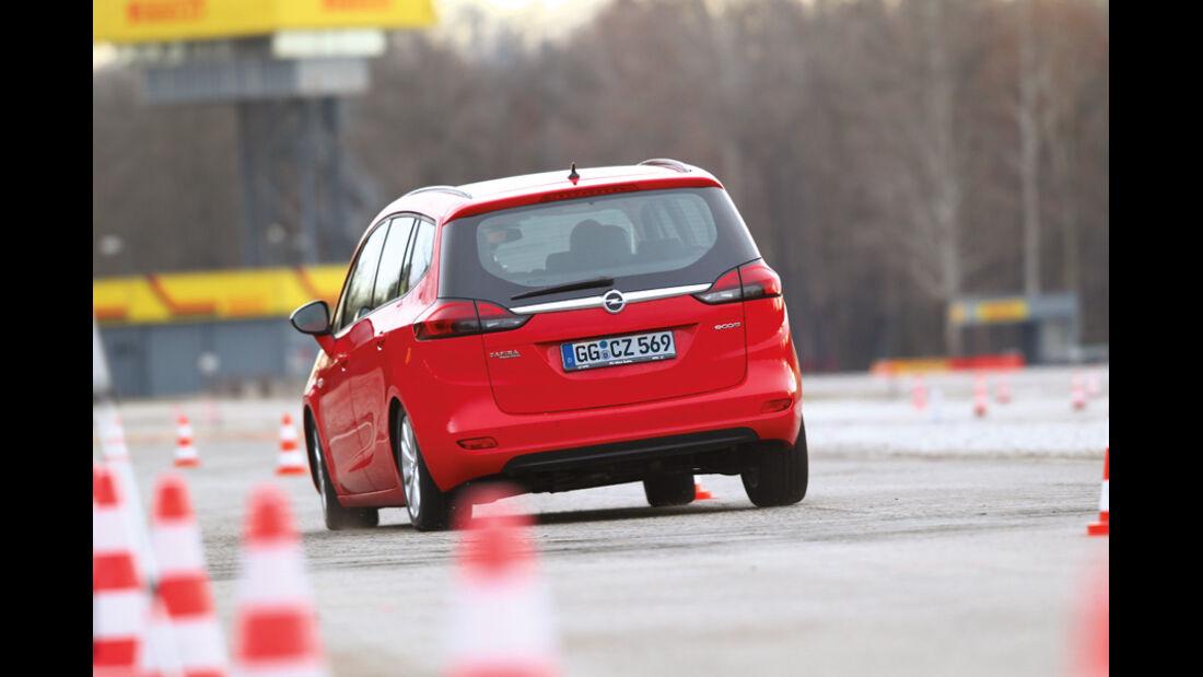 Opel Zafira Tourer 1.4 Turbo, Pylonen
