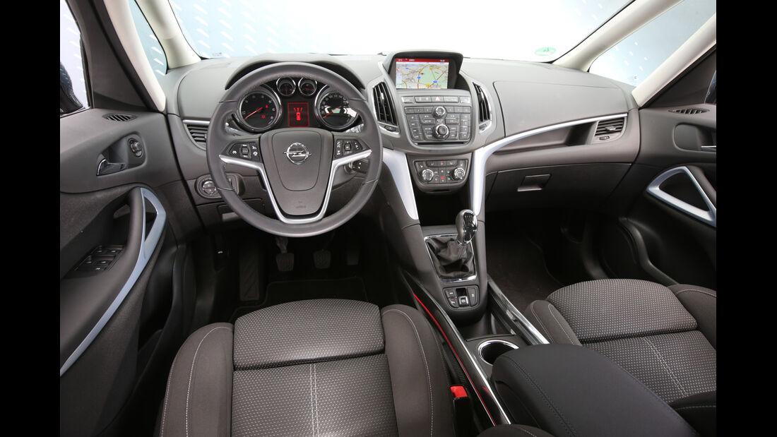 Opel Zafira Tourer 1.6 CDTI, Cockpit