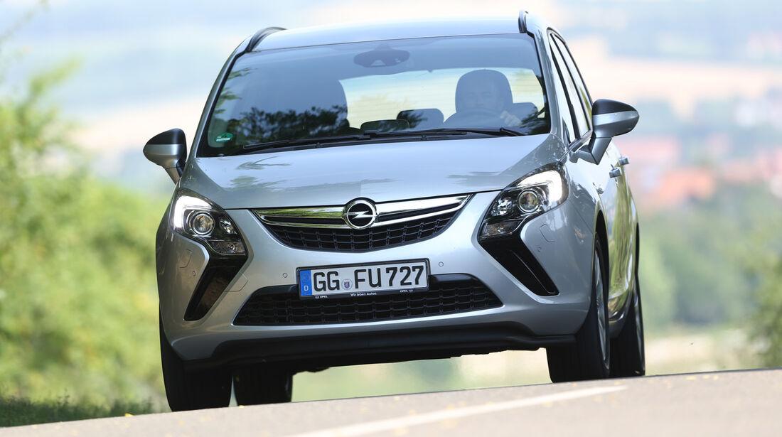 Opel Zafira Tourer 1.6 CDTI, Frontansicht