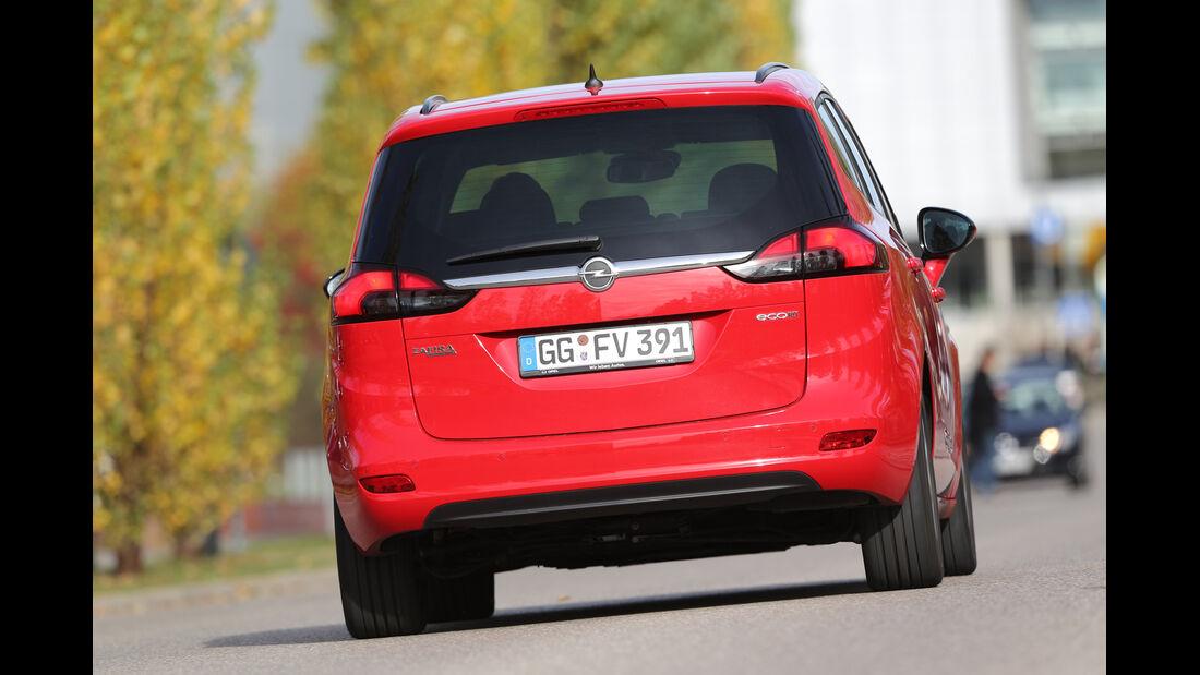 Opel Zafira Tourer 1.6 CDTI, Heckansicht