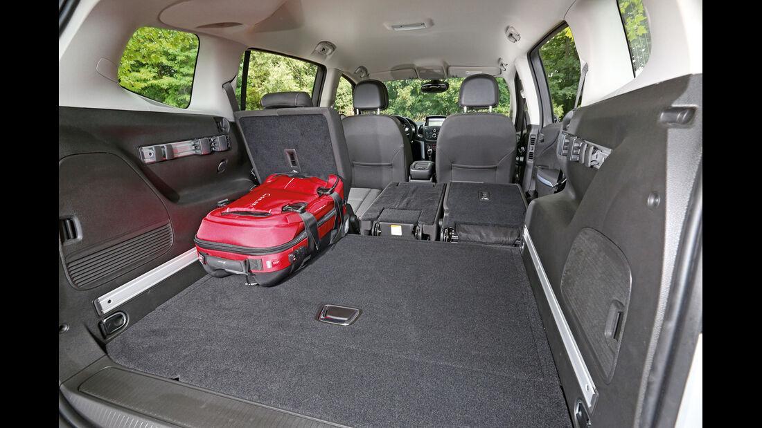Opel Zafira Tourer 1.6 CDTI, Ladefläche