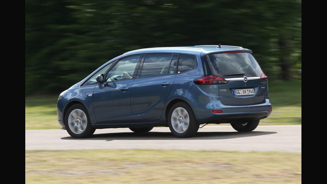 Opel Zafira Tourer 1.6 CDTI, Seitenansicht