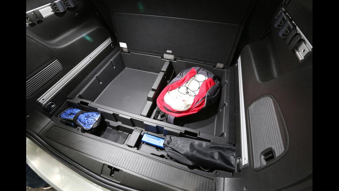 Opel Zafira Tourer 1.6 CDTI, Stauraum