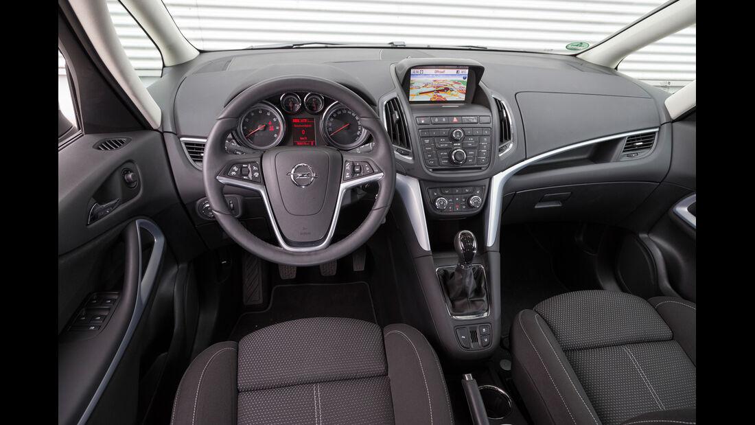 Opel Zafira Tourer 1.6 CNG Turbo, Cockpit