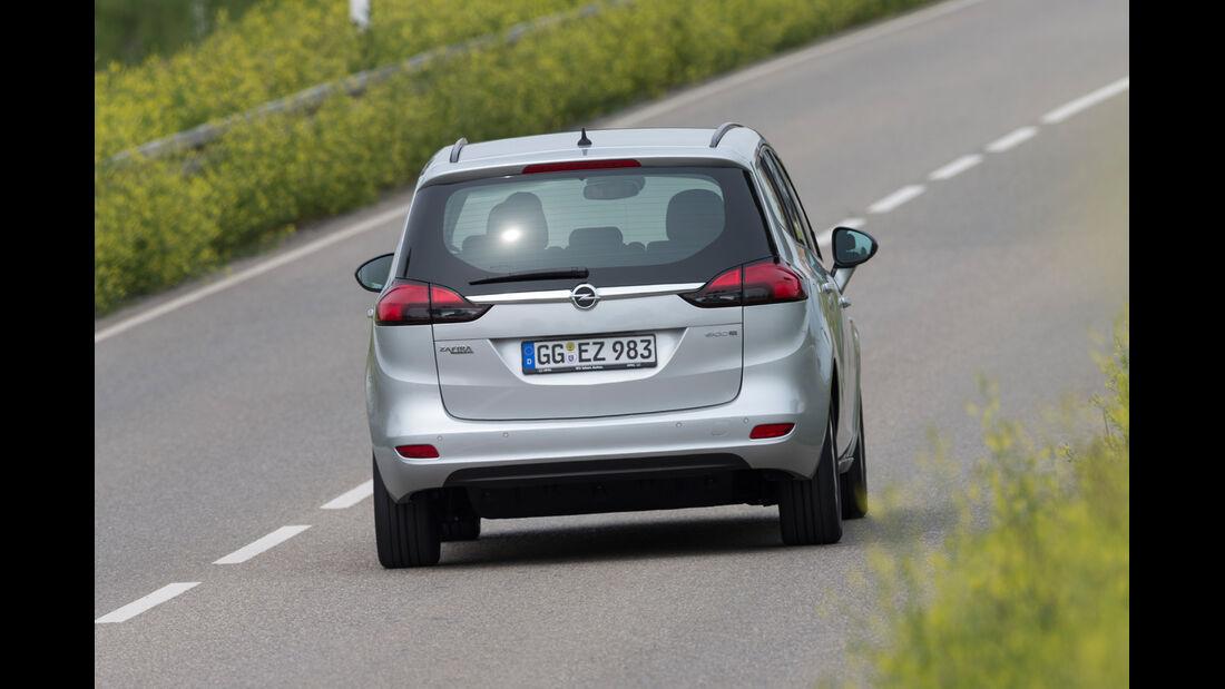 Opel Zafira Tourer 1.6 CNG Turbo, Heckansicht