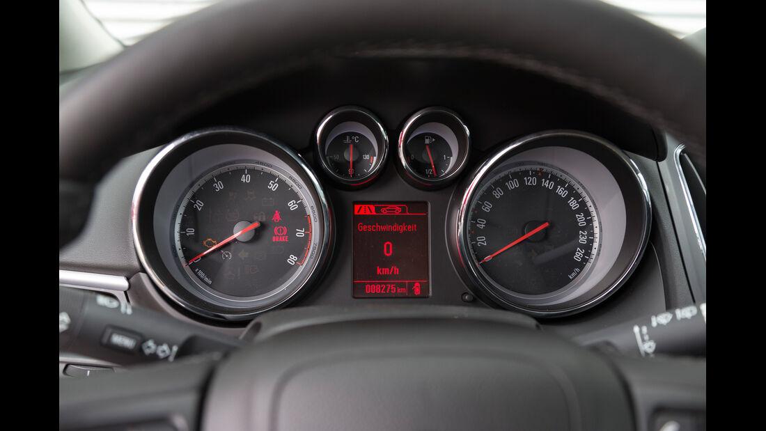 Opel Zafira Tourer 1.6 CNG Turbo, Rundinstrumente