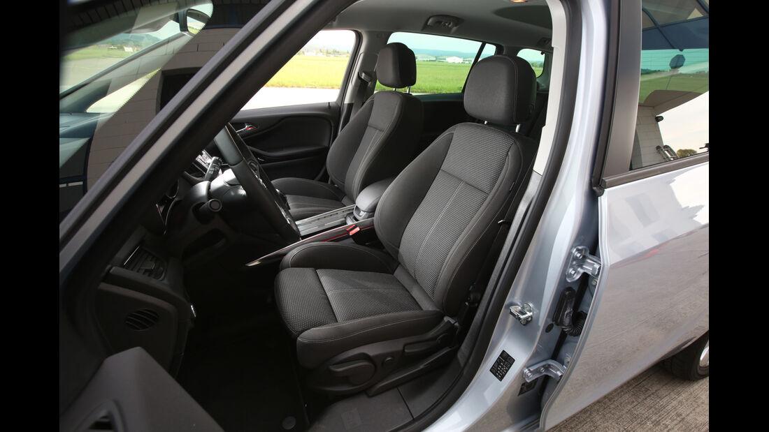 Opel Zafira Tourer 1.6 DI Turbo, Fahrersitz