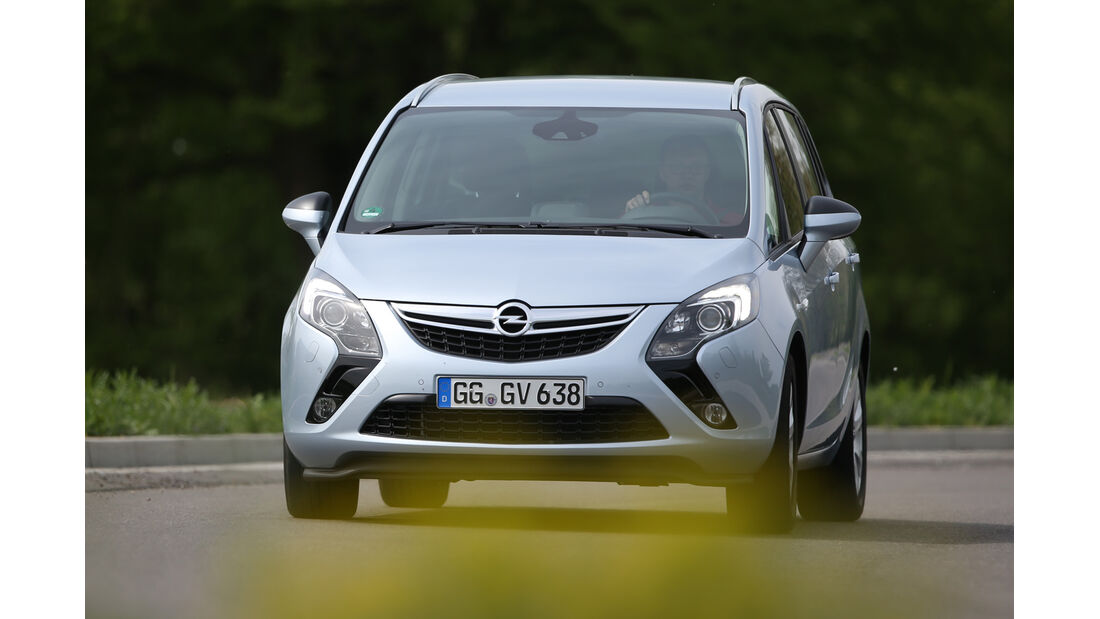 Opel Zafira Tourer 1.6 DI Turbo, Frontansicht