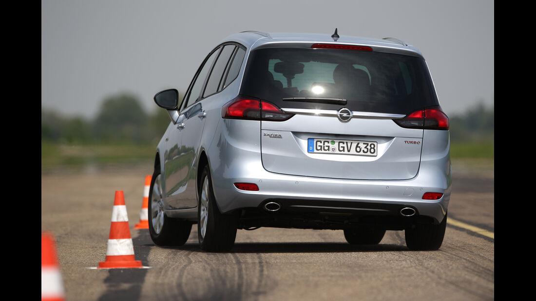 Opel Zafira Tourer 1.6 DI Turbo, Heckansicht