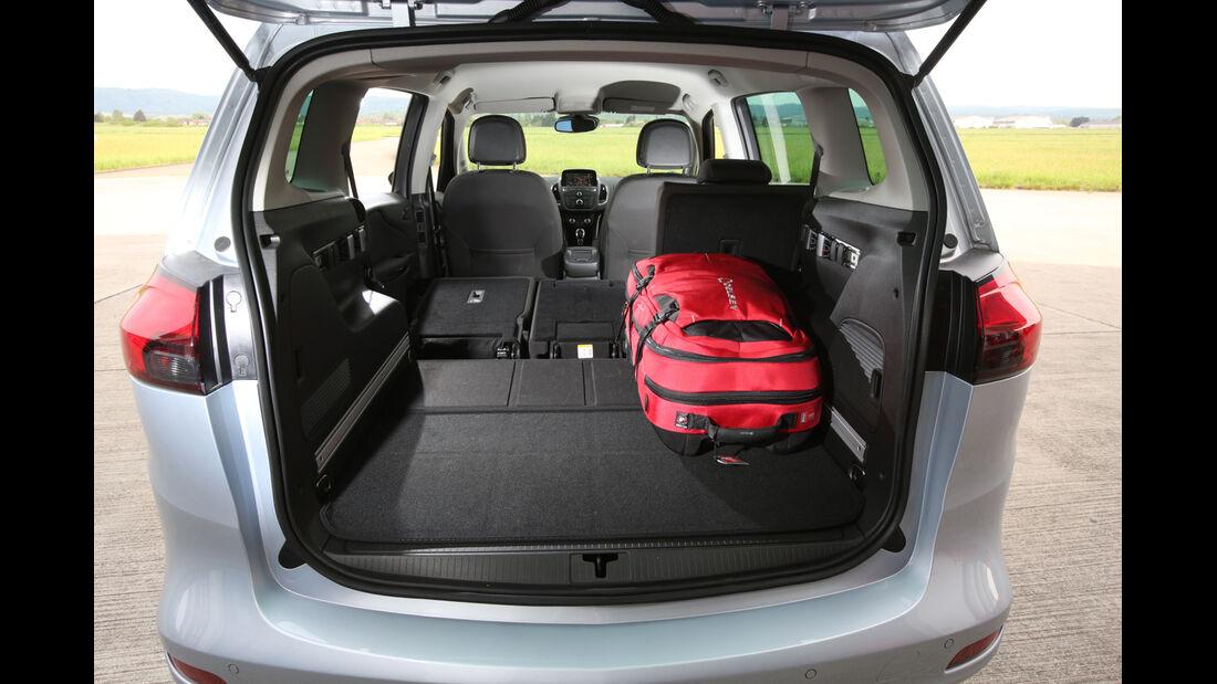 Opel Zafira Tourer 1.6 DI Turbo, Kofferraum