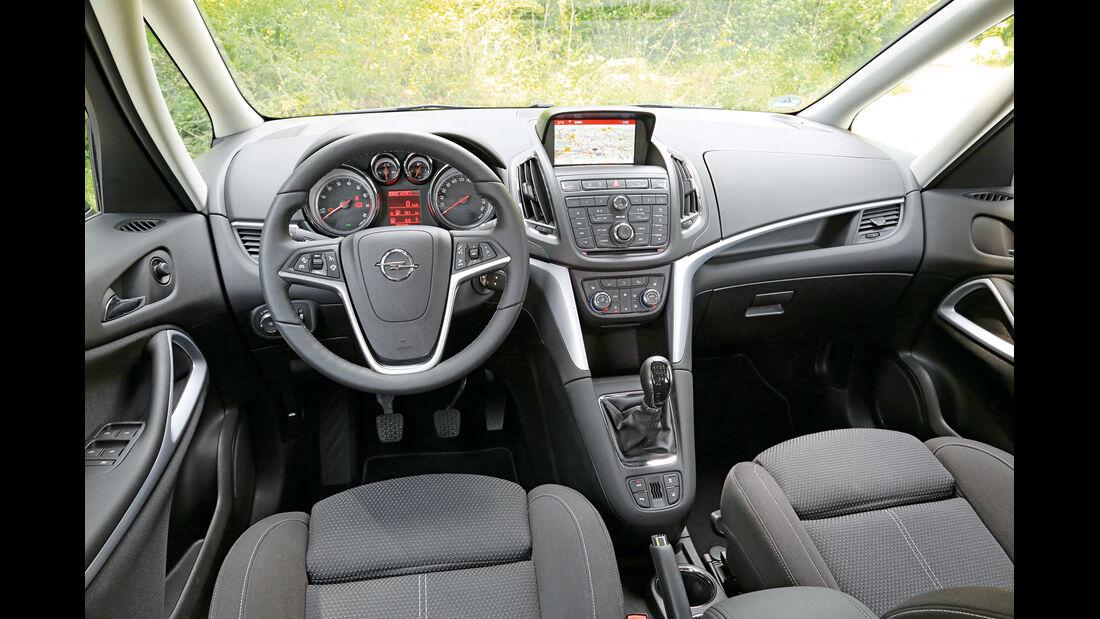 Opel Zafira Tourer 1.6 Turbo, Cockpit