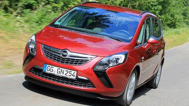 Opel Zafira Tourer 1.6 Turbo, Frontansicht