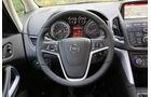 Opel Zafira Tourer 1.6 Turbo, Lenkrad, Anzeigeinstrumente