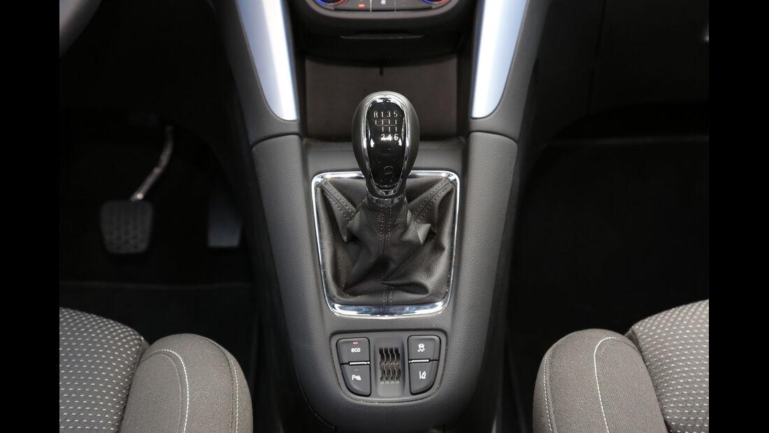 Opel Zafira Tourer 1.6 Turbo, Schalthebel