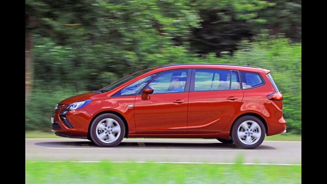 Opel Zafira Tourer 1.6 Turbo, Seitenansicht