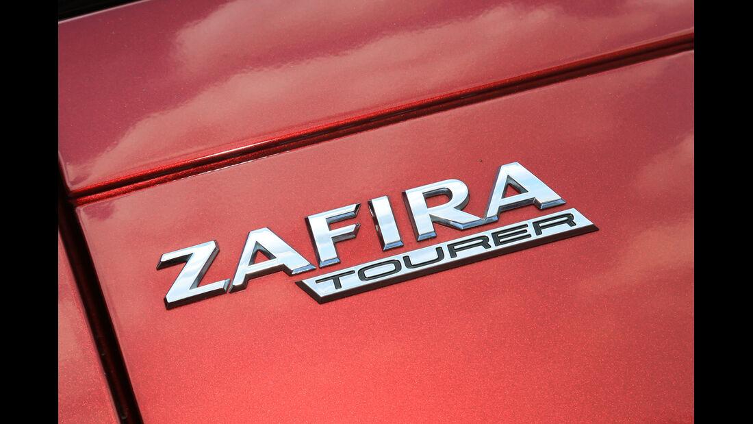 Opel Zafira Tourer 1.6 Turbo, Typenbezeichnung
