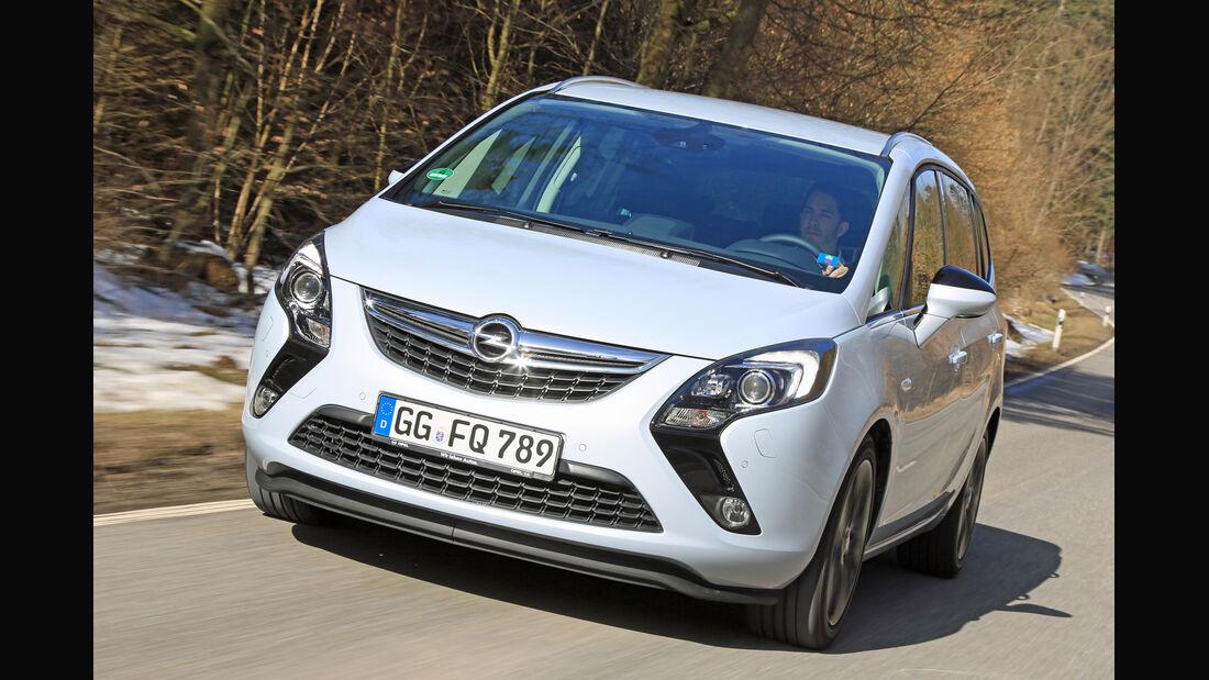Opel Zafira Tourer 2.0 Biturbo CDTi Sport, Frontansicht