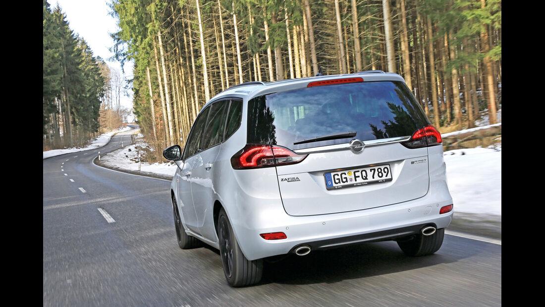 Opel Zafira Tourer 2.0 Biturbo CDTi Sport, Heckansicht