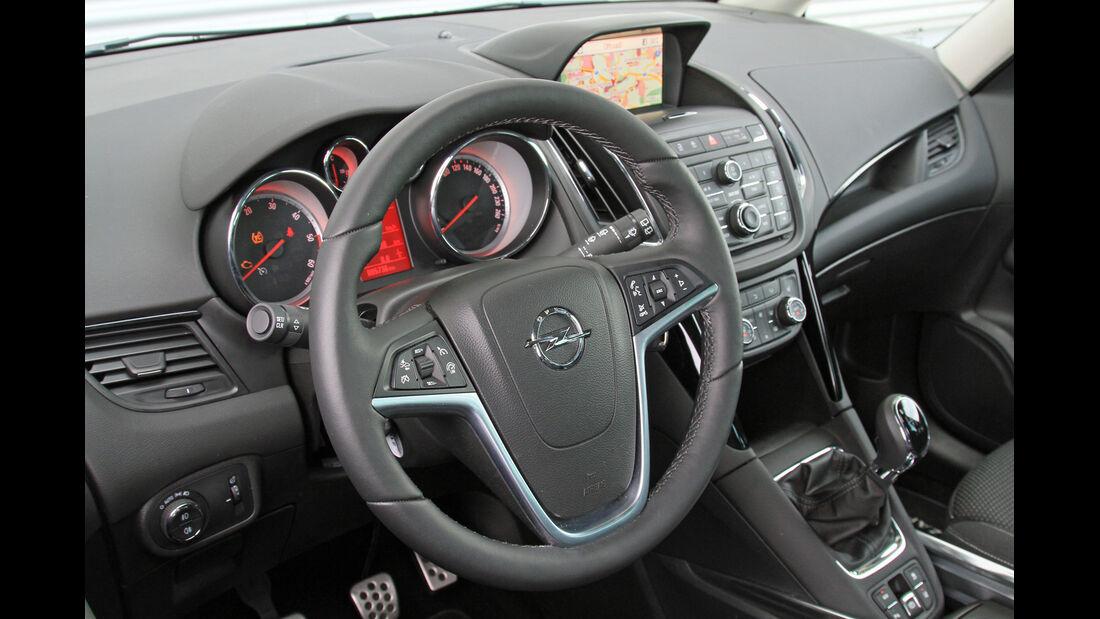 Opel Zafira Tourer 2.0 Biturbo CDTi Sport, Lenkrad