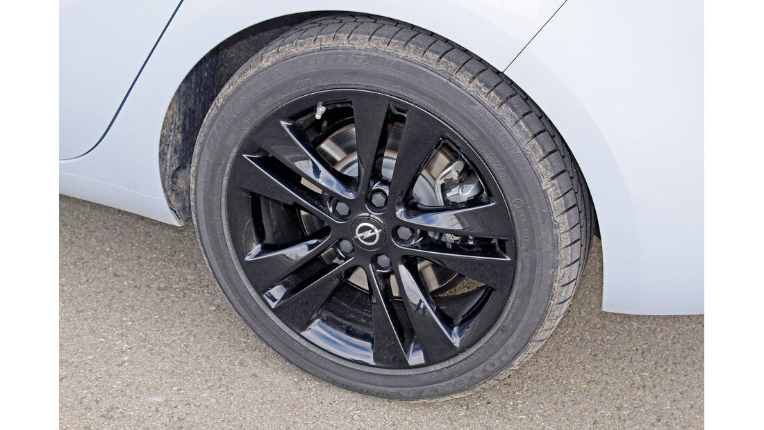 Opel Zafira Tourer 2.0 Biturbo CDTi Sport, Rad, Felge