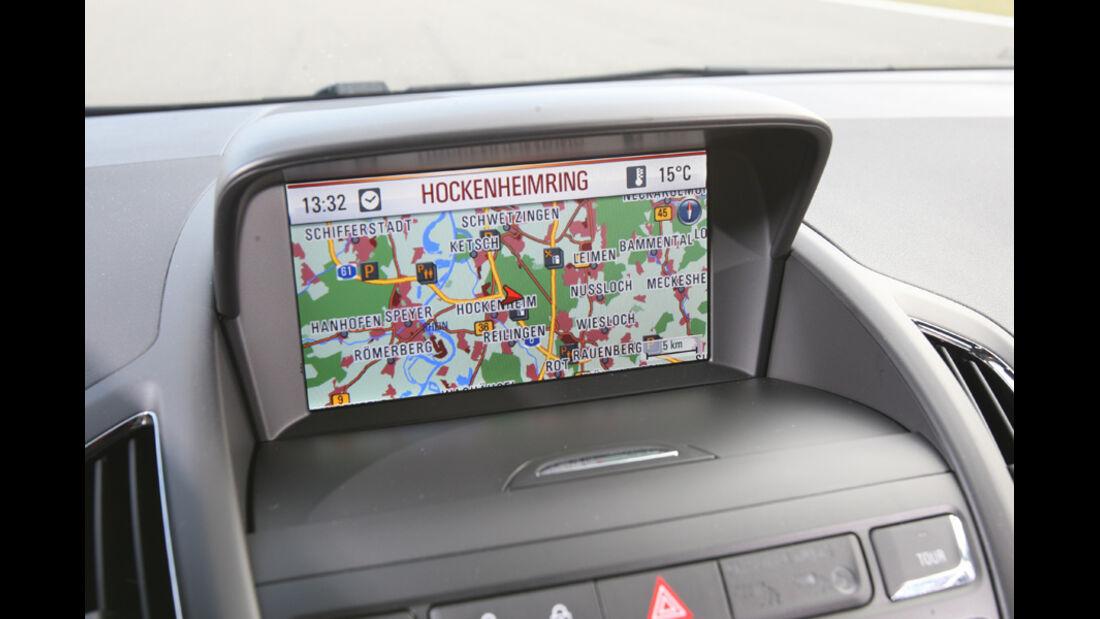 Opel Zafira Tourer 2.0 CDTi Ecoflex Edition, Bildschirm, Navi