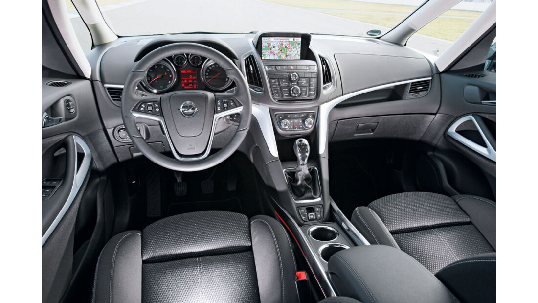 Opel Zafira Tourer 2.0 CDTi Ecoflex Edition, Cockpit