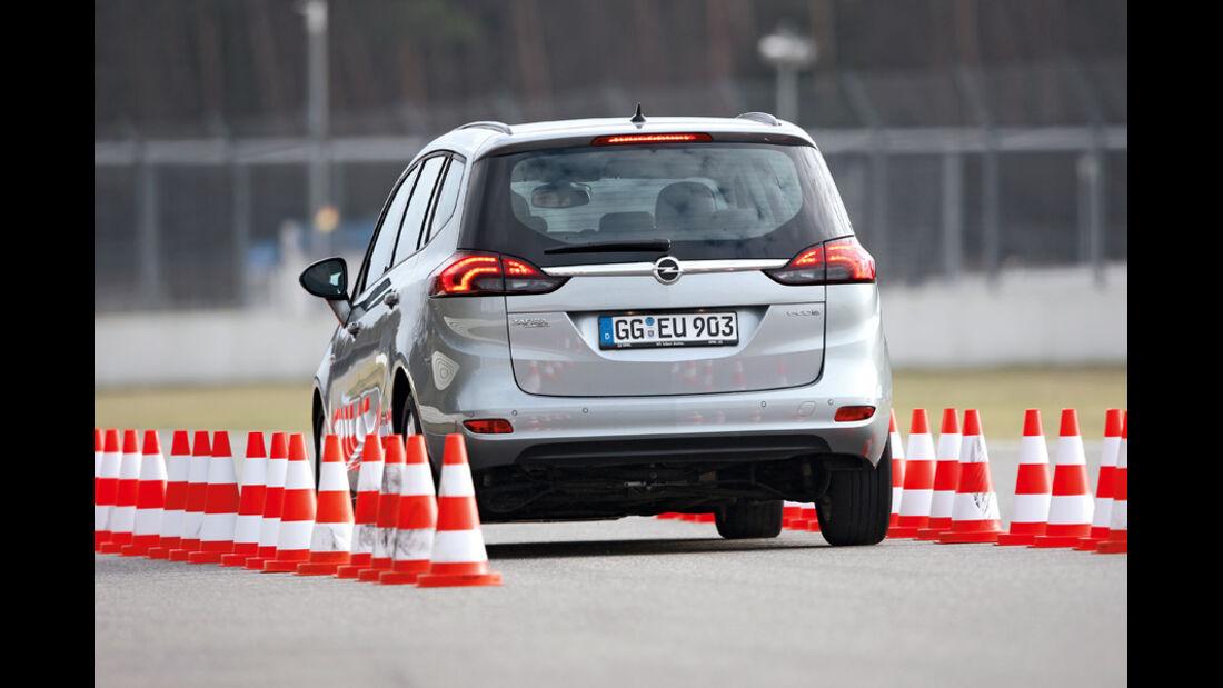 Opel Zafira Tourer 2.0 CDTi Ecoflex Edition, Heck
