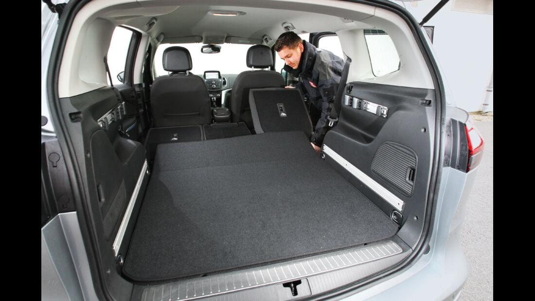 Opel Zafira Tourer 2.0 CDTi Ecoflex Edition, Ladefläche, Kofferraum