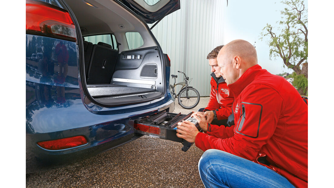 Opel Zafira Tourer 2.0 CDTi, Fahrradständer