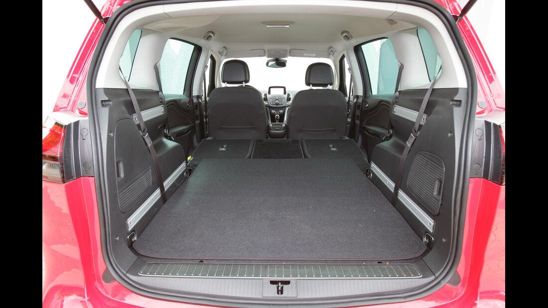 Opel Zafira Tourer 2.0 CDTi, Ladefläche