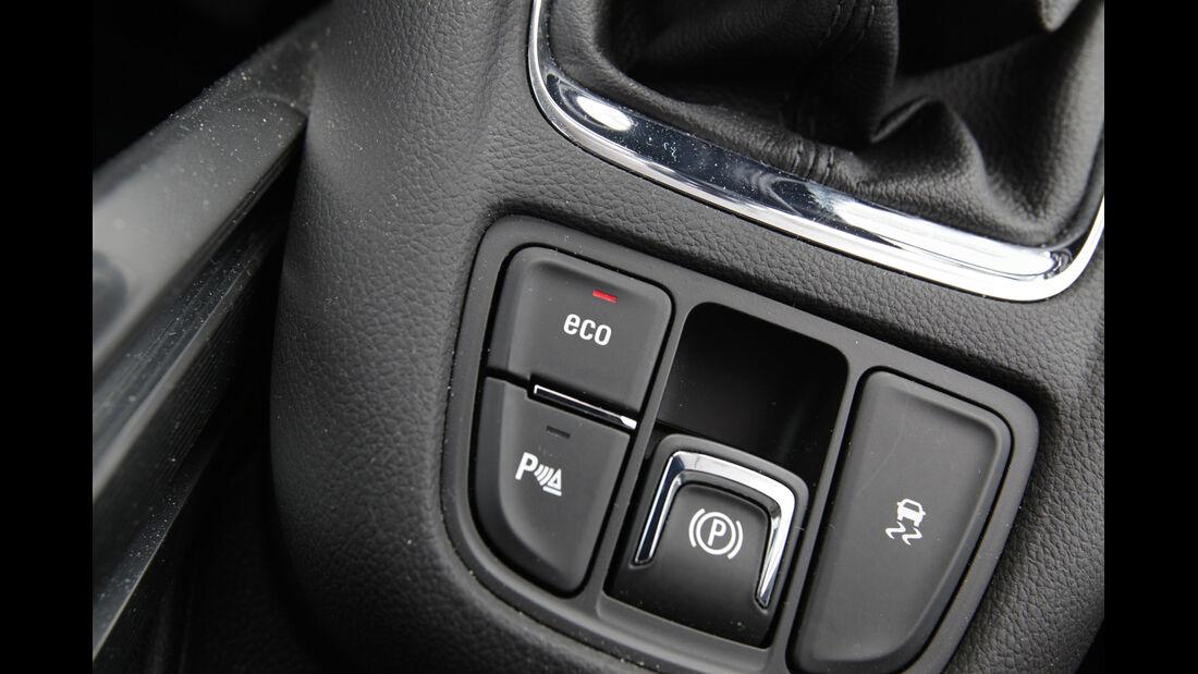 Opel Zafira Tourer 2.0 CDTi, Mittelkonsole